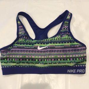 Nike Pro dri fit Sports Bra